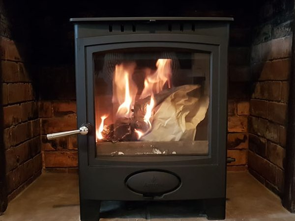 Wood burning stove installer in Taunton, Somerset