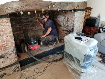cheapest wood burner installations