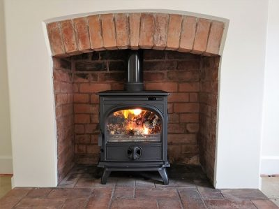 woodburner installations