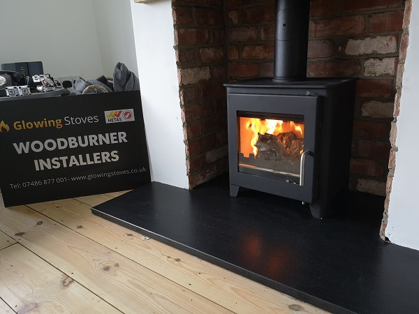Hetas wood stove installer in Somerset