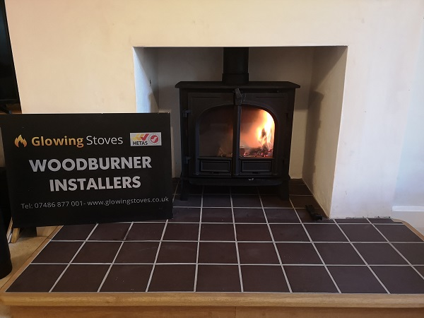 Somerset wood stove installer in Chard, Somerset.