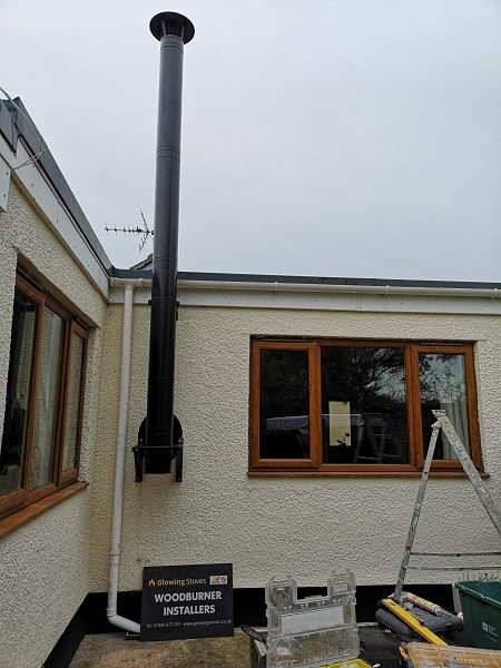 Twin wall chimney installers in Somerset