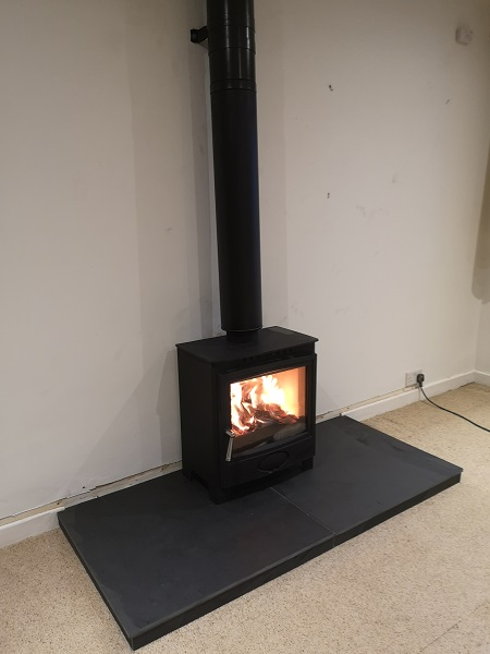 Multi fuel stove installer in Milverton, Somerset