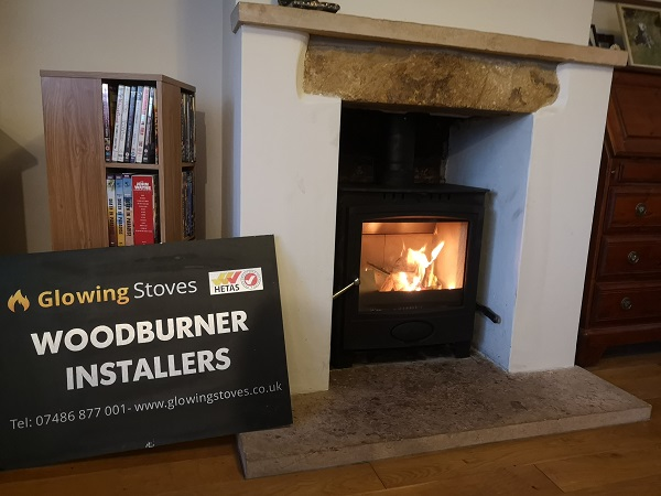 Yeovil log burner installer and fitter