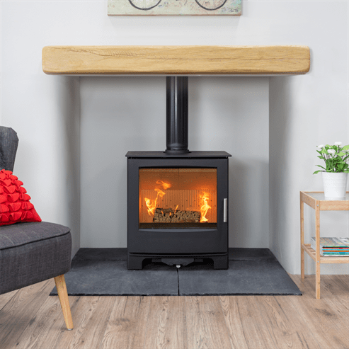 Mendip Woodland stove installation in Taunton, Somerset