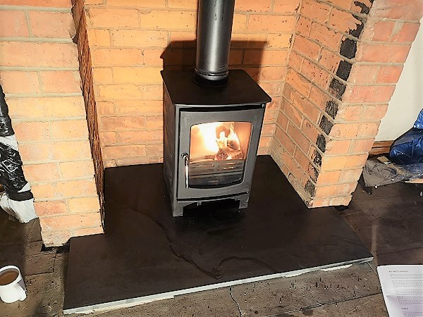 Wood burner installer in Street, Somerset