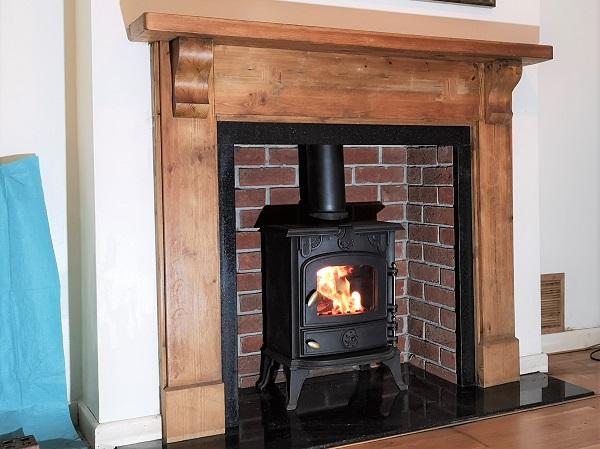 Multi-fuel stove installations in Hatch Beauchamp, Taunton, Somerset.